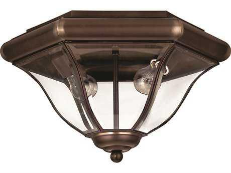 Hinkley Lighting San Clemente Copper Bronze Two-Light Outdoor Ceiling Light HY2443CB