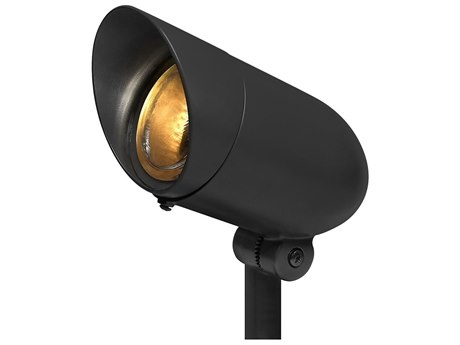 Hinkley Lighting Black 1-light Glass Outdoor Spot Light