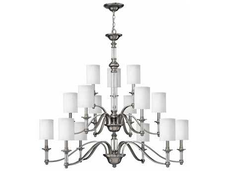 Hinkley Lighting Sussex Brushed Nickel 15-Light 47'' Wide Grand Chandelier HY4799BN