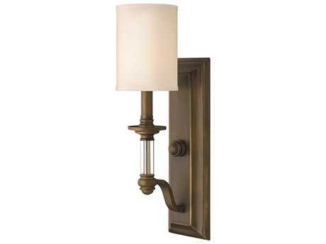 Hinkley Lighting Sussex English Bronze Wall Sconce HY4790EZ