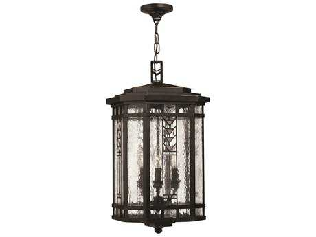 Hinkley Lighting Tahoe Regency Bronze Four-Light Outdoor Pendant Light HY2242RB
