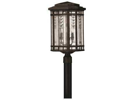 Hinkley Lighting Tahoe Regency Bronze Four-Light Outdoor Post Light