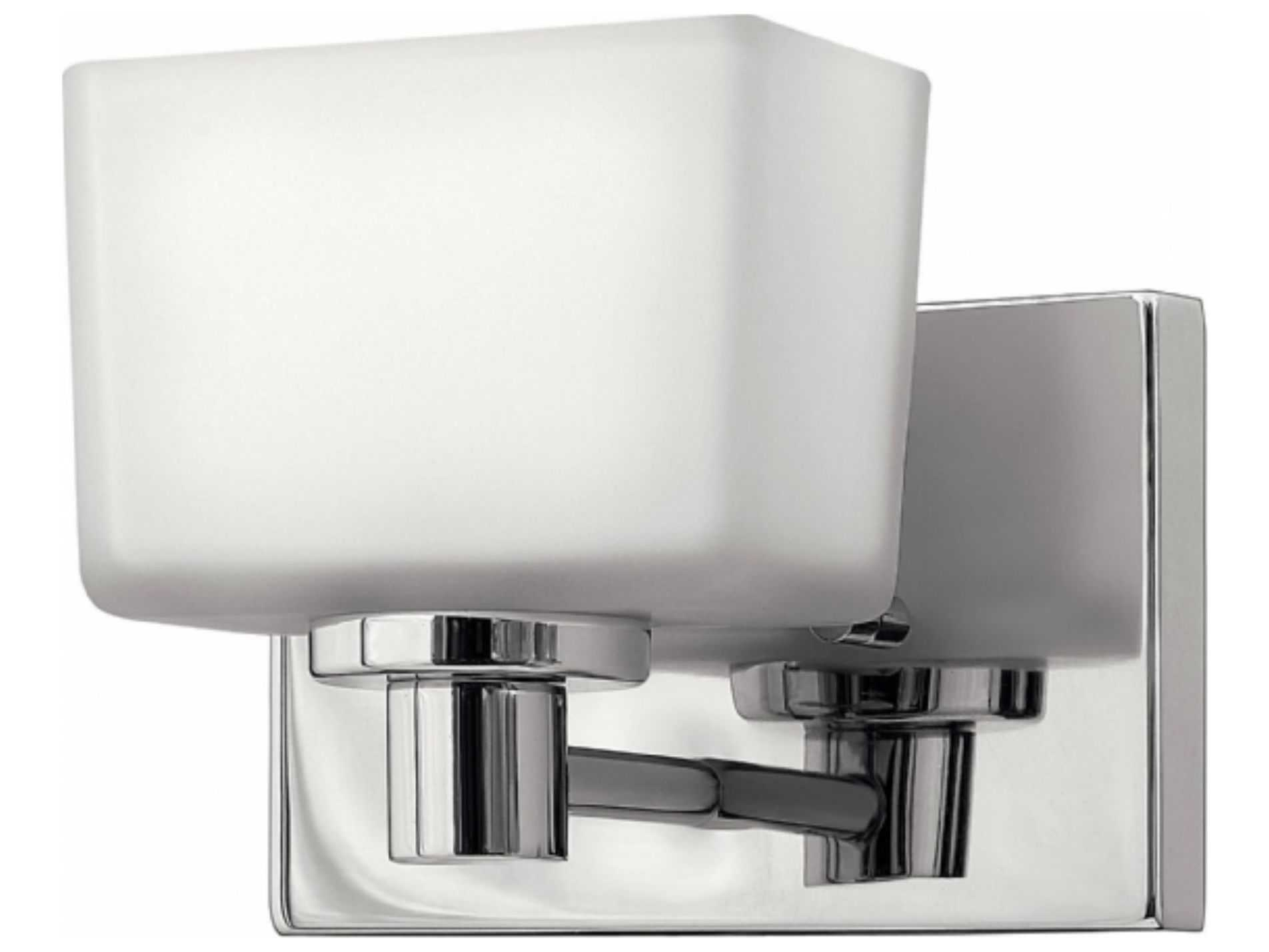 Portfolio 3 Light 22 In Brushed Nickel Bowl Vanity Light: Hinkley Lighting Taylor Chrome With Etched White Glass LED