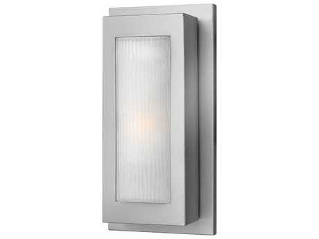 Hinkley Lighting Titan Titanium 6.75'' Wide LED Outdoor Wall Sconce HY2050TTLED