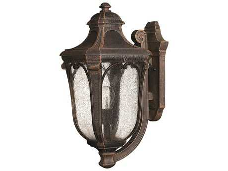 Hinkley Lighting Trafalgar Mocha Incandescent Outdoor Wall Light HY1314MO