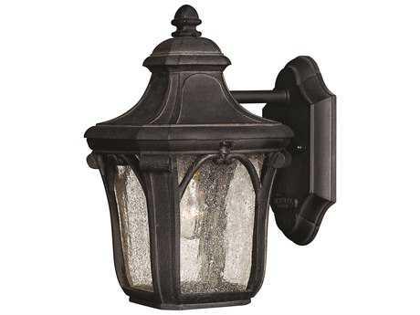 Hinkley Lighting Trafalgar Museum Black Incandescent Outdoor Wall Light