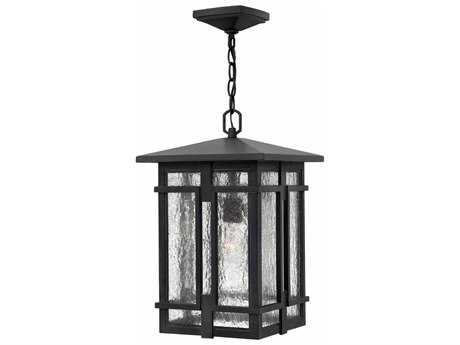 Hinkley Lighting Tucker Museum Black 11'' Wide Outdoor Pendant Light