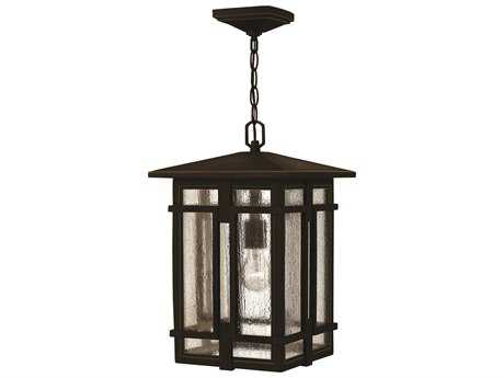 Hinkley Lighting Tucker Oil Rubbed Bronze Outdoor Pendant Light