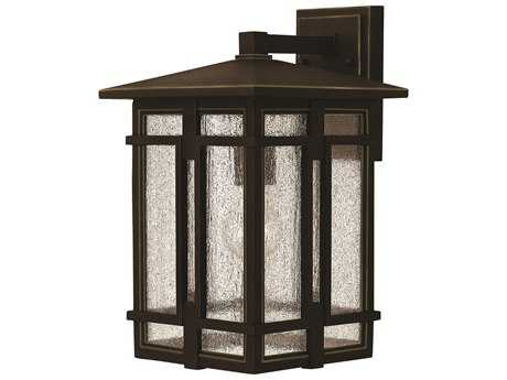 Hinkley Lighting Tucker Oil Rubbed Bronze Outdoor Wall Light