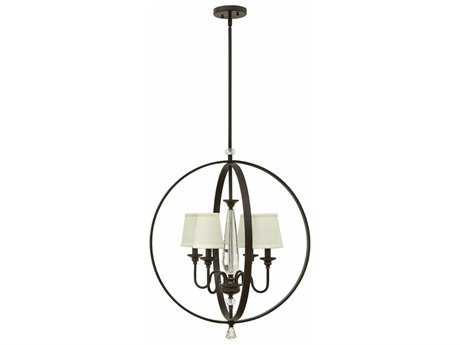 Hinkley Lighting Waverly Oil Rubbed Bronze Four-Light 24'' Wide Chandelier HY4604OZ