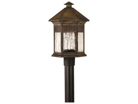 Hinkley Lighting Westwinds Sienna Three-Light Outdoor Post Light HY2991SN