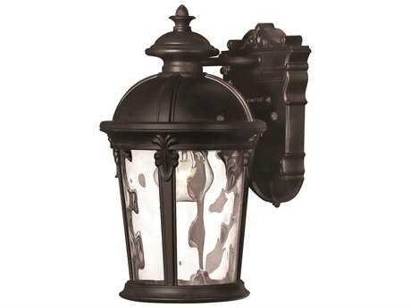 Hinkley Lighting Windsor Black Incandescent Outdoor Wall Light