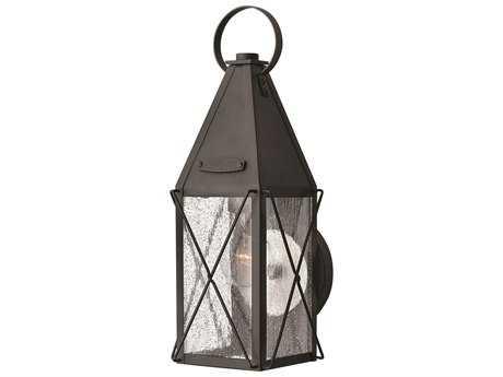Hinkley Lighting York Black Outdoor Wall Light