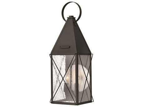 Hinkley Lighting York Black Two-Light Outdoor Wall Light