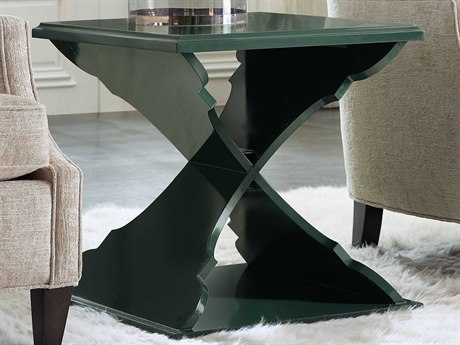 Hooker Furniture Green 22'' Wide Square End Table