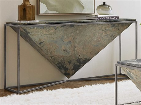 Hooker Furniture 5793-80 Gray 64'' Wide Rectangular Console Table