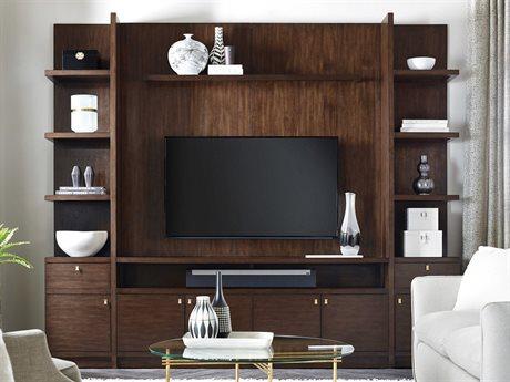 Hooker Furniture Medium Wood Atelier Entertainment Center HOO58117047485SET