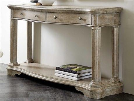 Hooker Furniture 5813-80 Light Wood 56'' Wide Rectangular Console Table