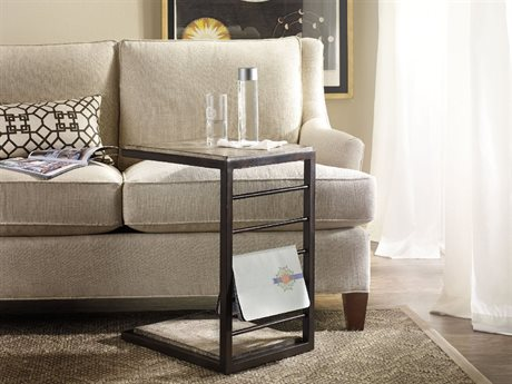 Hooker Furniture Light Wood 14''L x 18''W Rectangular End Table