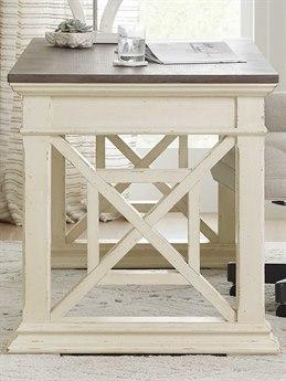 Hooker Furniture Accent Distressing Cream / Pewter Secretary Desk HOO564410458WH