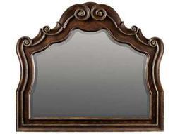 Adagio Rich Dark with Gold Tipping 50''W x 44''H Landscape Dresser Mirror