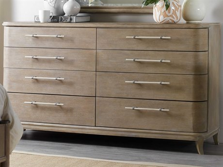 Hooker Furniture Affinity Greige Sand-blasted 8 Drawers and up Double Dresser HOO605090002GRY