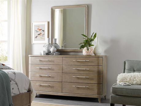 Hooker Furniture Affinity Double Dresser with Mirror