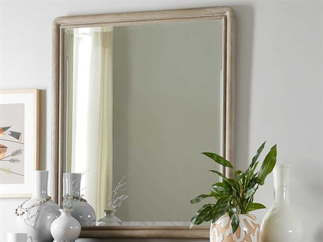Hooker Furniture Affinity Greige Sand-blasted Dresser Mirror