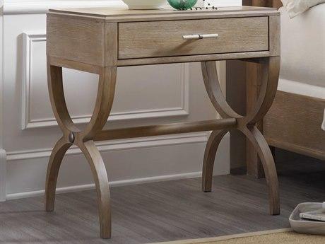 Hooker Furniture Affinity Greige Sand-blasted 1 Drawer Nightstand