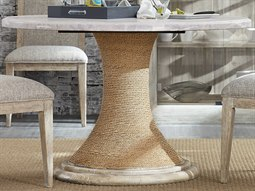 American Life - Amani Light Wood 48'' Wide Round Dining Table
