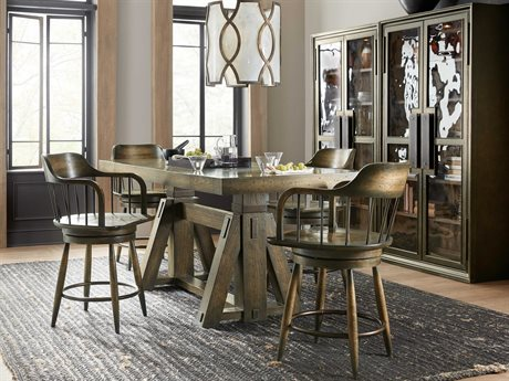 Hooker Furniture American Life-crafted Dining Room Set HOO165475206DKW1SET2