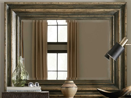 Hooker Furniture American Life - Crafted Dark Wood Dresser Mirror
