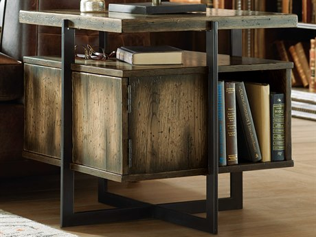 Hooker Furniture American Life - Crafted Dark Wood 24'' Wide Square End Table HOO165480115DKW1
