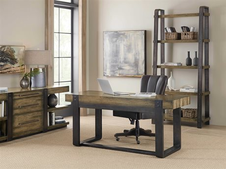 Hooker Furniture American Life-Crafted Home Office Set HOO165410458DKW1SET