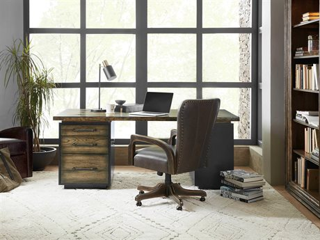 Hooker Furniture American Life-crafted Home Office Set HOO165410562DKW1SET