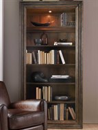 American Life - Crafted Dark Wood Bookcase