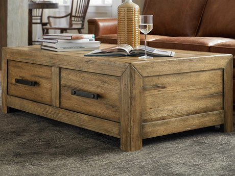 Hooker Furniture American Life - Roslyn County Medium Wood 52'' Wide Rectangular Coffee Table