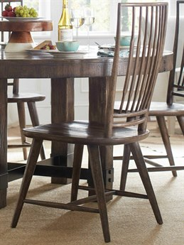 Hooker Furniture American Life - Roslyn County Dark Wood Side Dining Chair