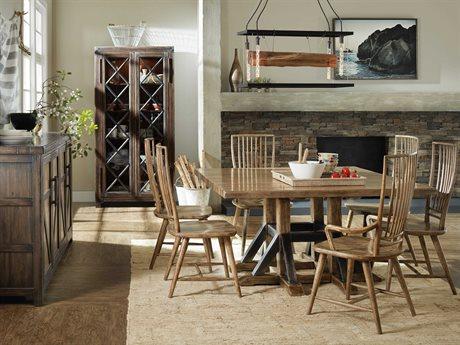Hooker Furniture American Life-roslyn County Dining Room Set HOO161875205MWDSET