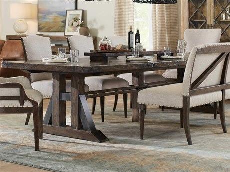 Hooker Furniture American Life - Roslyn County Dark Wood 90'' Wide Rectangular Dining Table