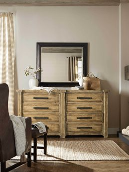 Hooker Furniture American Life-roslyn County Double Dresser with Mirror HOO161890002MWDSET
