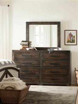 Hooker Furniture American Life-roslyn County 8 Drawers and up Double Dresser HOO161890011DKWSET