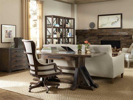 Hooker Furniture American Life - Roslyn County Home Office Set HOO161810459DKWSET