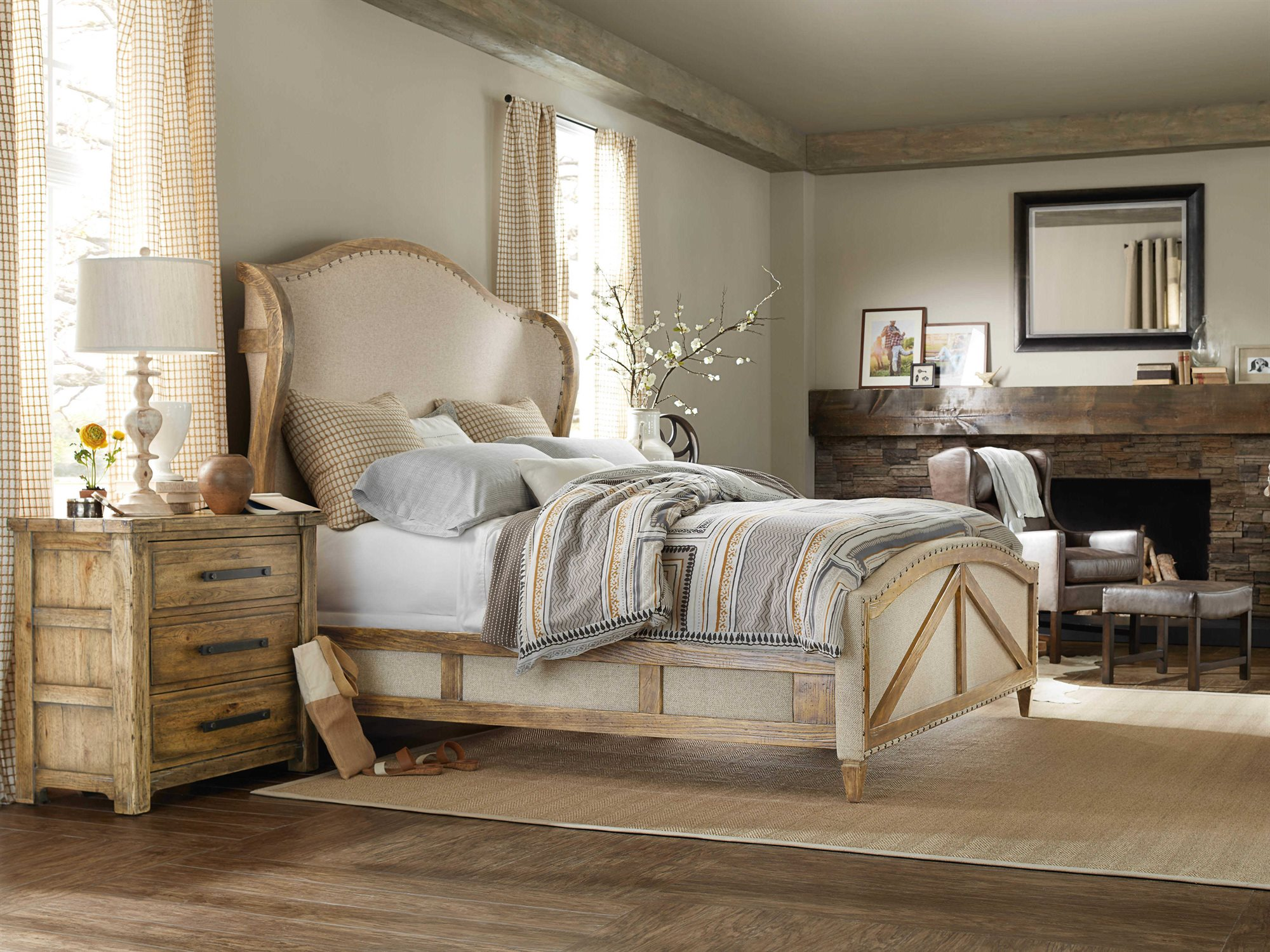 Hooker Furniture American Life-roslyn County Bedroom Set