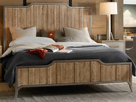 Hooker Furniture American Life - Urban Elevation Light Maple California King Panel Bed