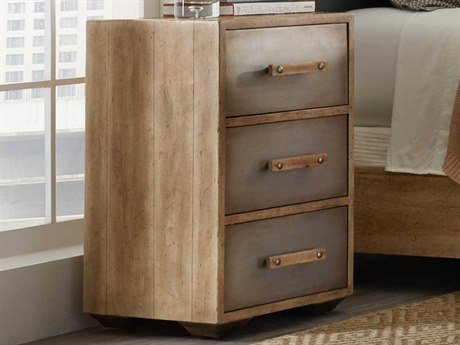 Hooker Furniture American Life - Urban Elevation Light Maple 3 Drawers Nightstand