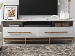 American Life - Urban Elevation White TV Stand