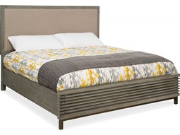 Annex Crafty Sand / Grays Queen Panel Bed