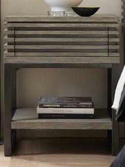 Hooker Furniture Annex Gray 1 Drawer Nightstand