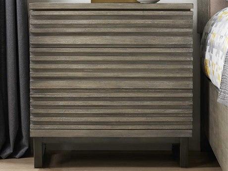 Hooker Furniture Annex Gray 3 Drawers Nightstand